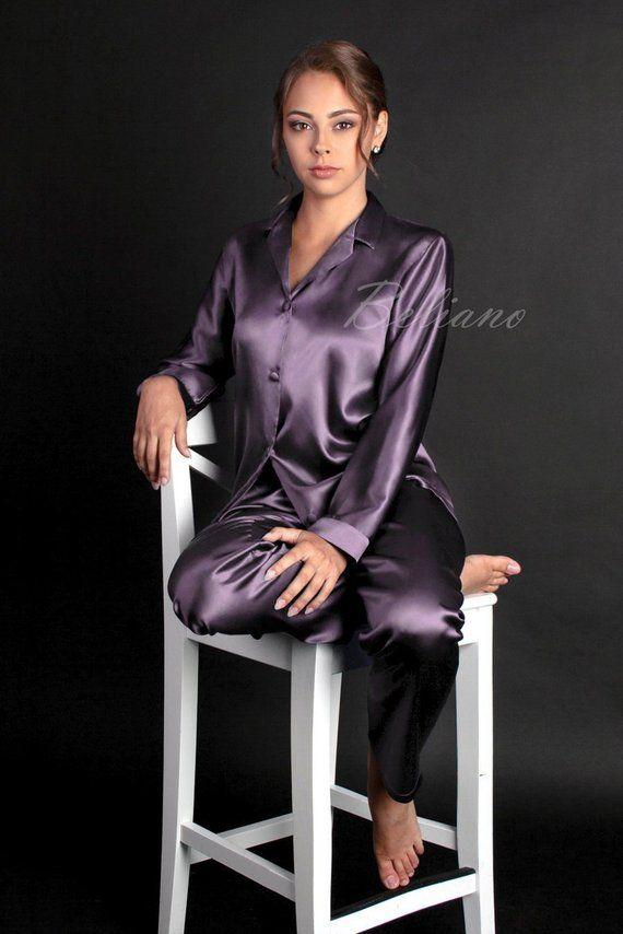bb108265159 Natural Silk Women Pajamas Sets
