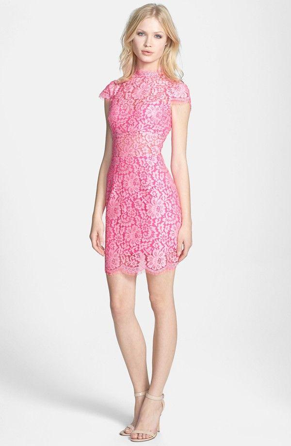 DV by Dolce Vita Cross Dye Lace Sheath Dress | 10 | Pinterest ...