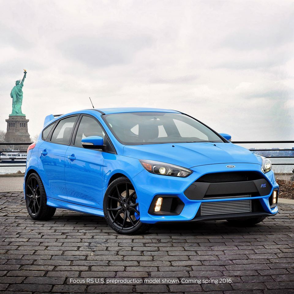 2016 Ford Focus Rt 315 Hp Awd And Grabber Blue I M Buying One