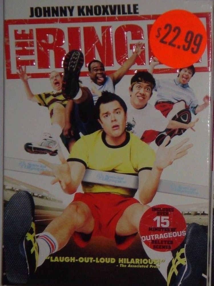 the ringer johnny knoxville full movie free