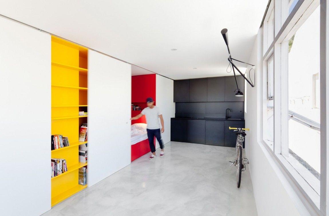 Leibal Mightymouse Gurney 5 Apartment Design Studio Apartment Design Small Studio Apartment Design