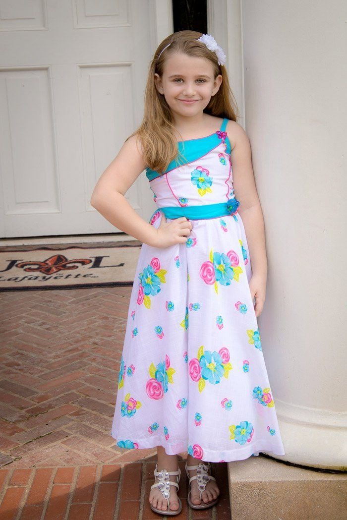 Santana Floral Party Summer Girls Dress – Carousel Wear