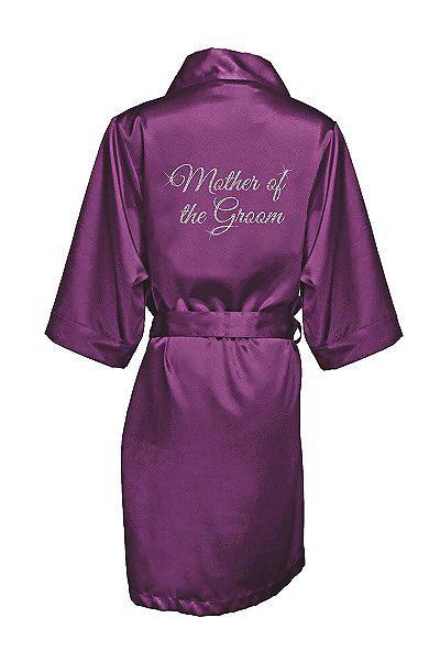 5099cbedd5d Glitter Print Mother of the Groom Satin Robe GLTRB-MOG