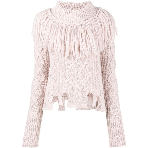 Philosophy Di Lorenzo Serafini perfectly fiitted knitted top Cheap Low Shipping Clearance With Paypal EIRaR