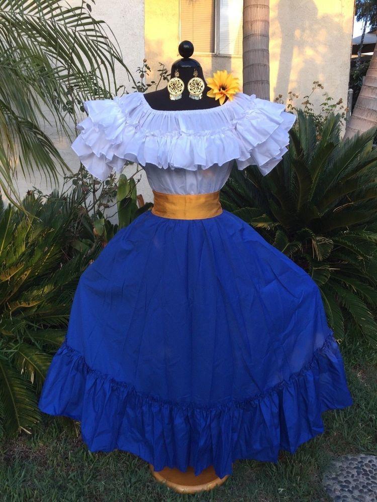 Details about mexican dress fiestaday of the dead5 de