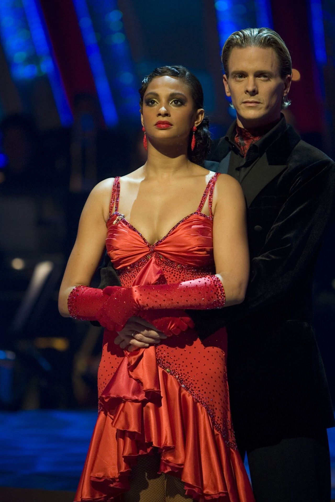 Alesha Dixon wearing opera gloves in Strictly Come Dancing ...
