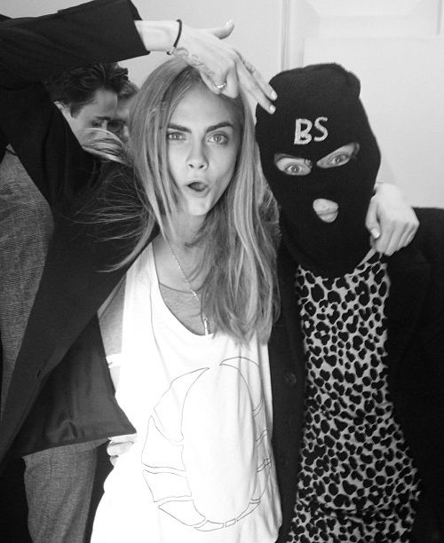 Cara Delevingne & Harry Style