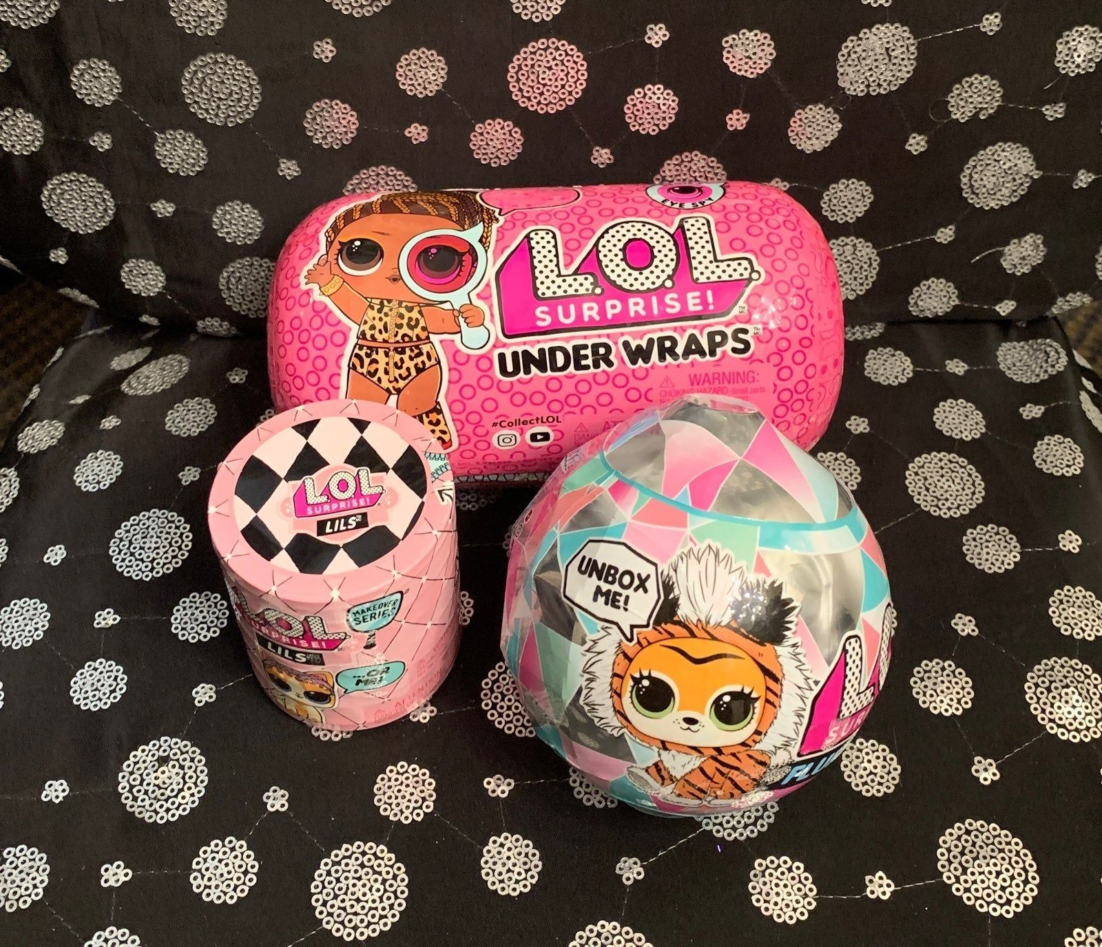 You Get All Three Brand New Unopened 1 Under Wraps 1 Lils 1 Winter Disco Fluffy Pet Plus Bogo Pick Out A Free Listing Up Fluffy Animals Wraps Playset