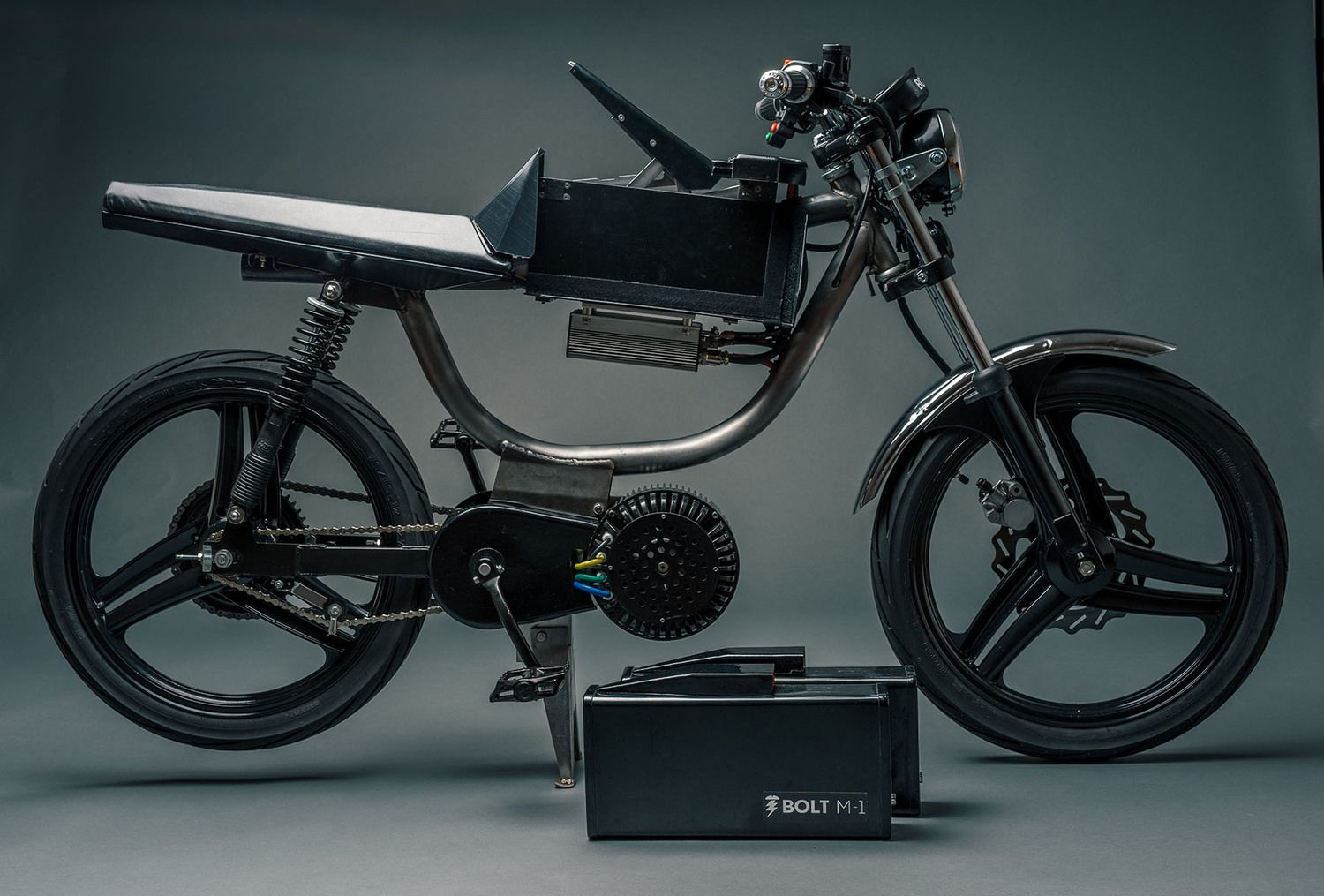Electric Cafe Racer Bicycle