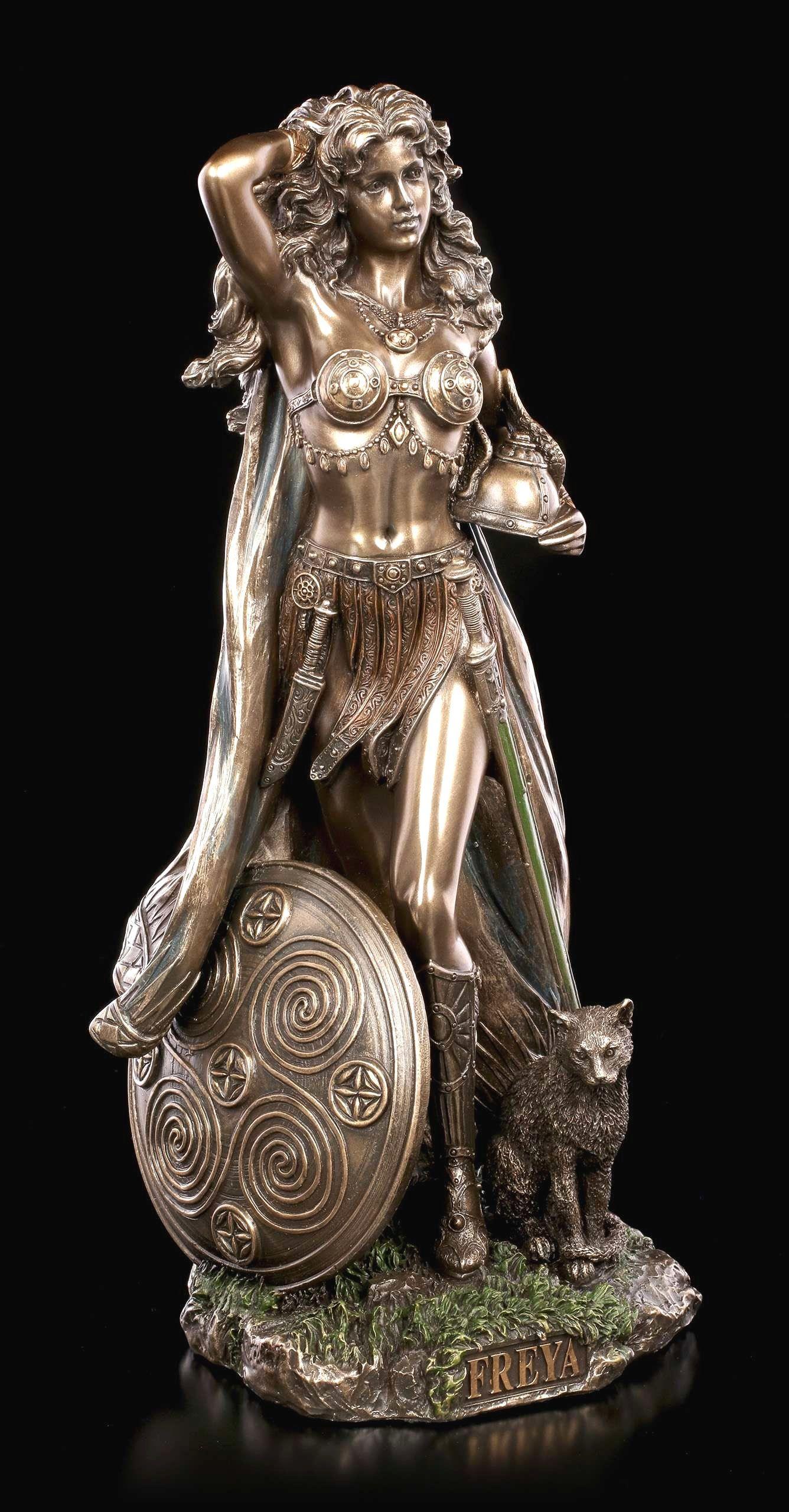 8 Vollkommen Kollektion Von Wohnzimmer Deko Figuren Statuen Nordische Gottin Freya Gottin