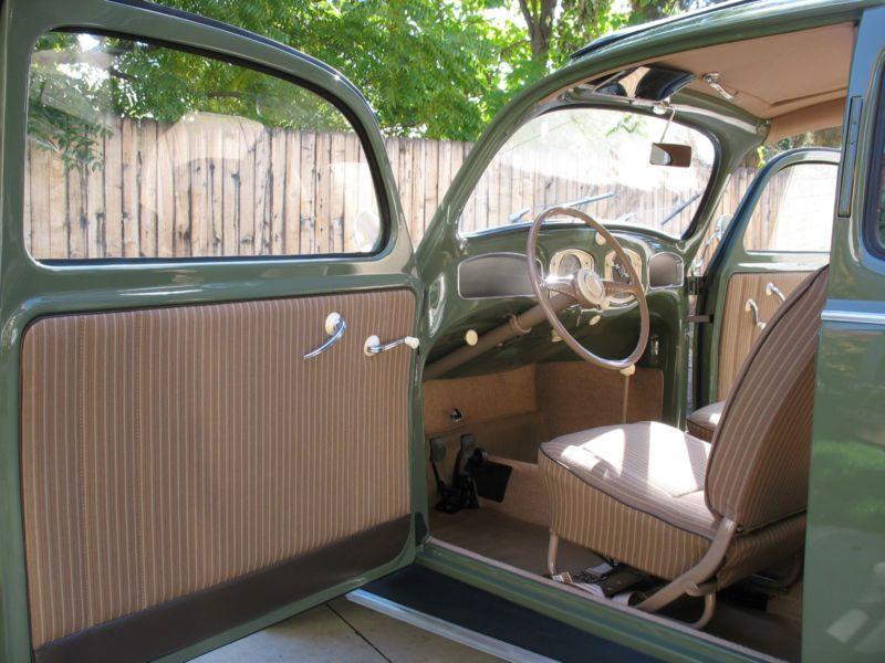 1952 Volkswagen Beetle Split Window Bug Vw Vochos Clasicos Vocho Escarabajo