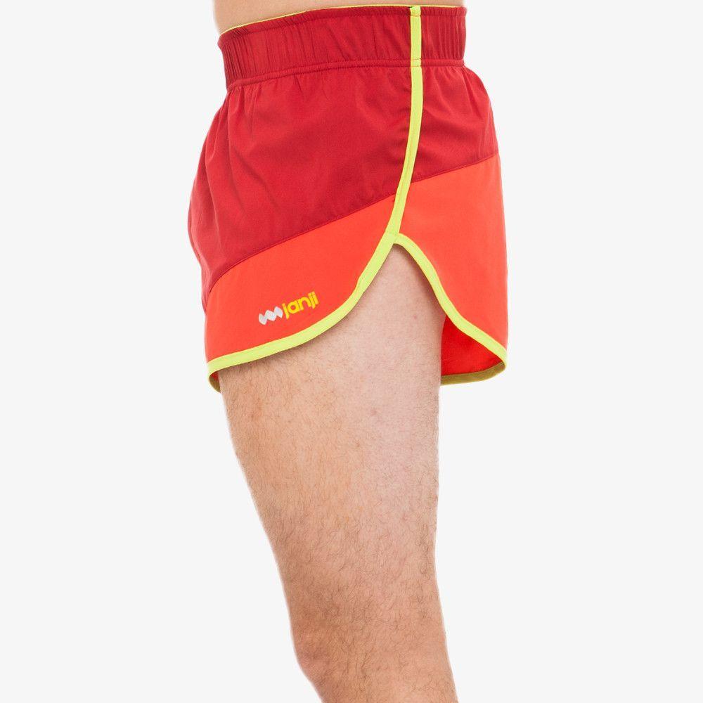 Mens Swim Suits Ethiopian Flag in Heart Shape Lightweight Beach Board Short with Pocket