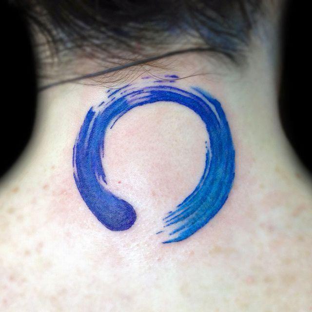 Equilibra Tu Cuerpo Con Estos 12 Tatuajes Del Enso El Símbolo Zen