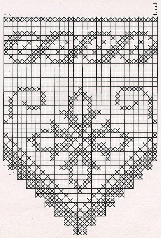 Pin de Martha Mercedes en Patrones punto de cruz y crochet ...