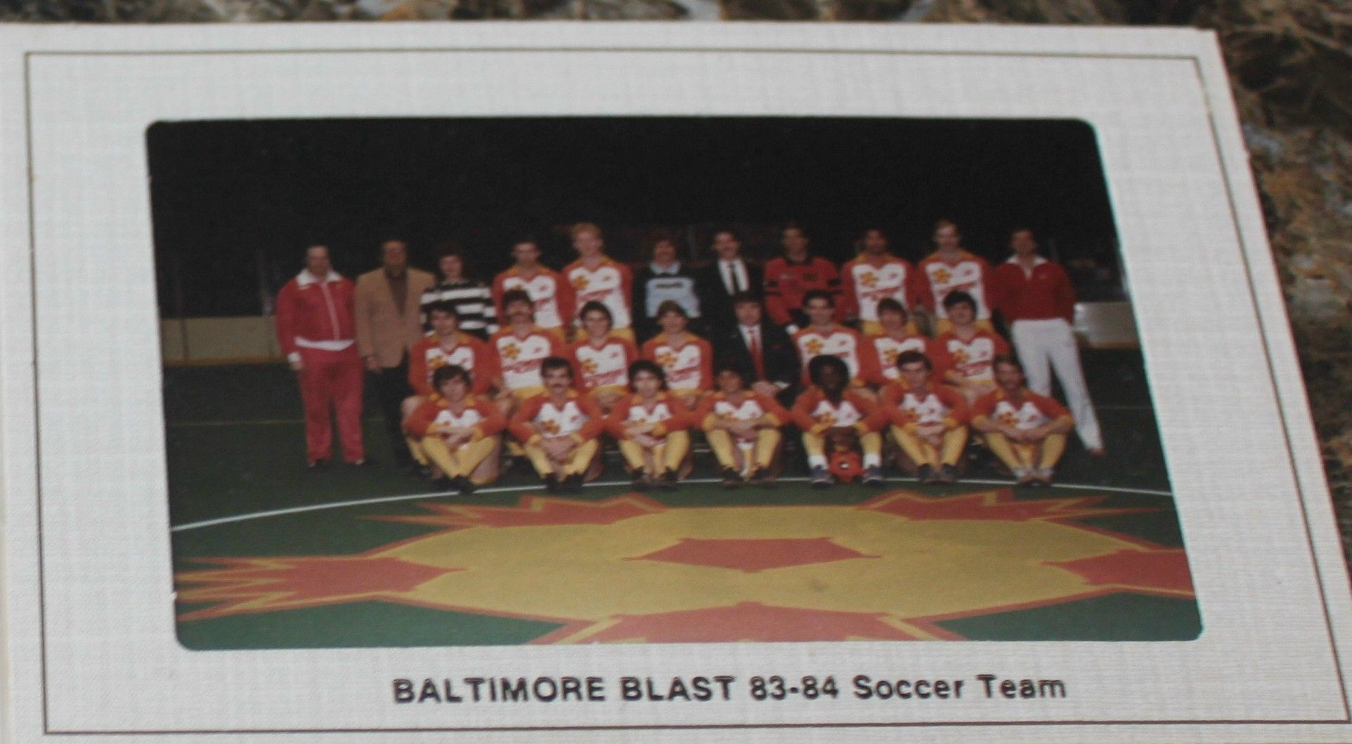 1983-84 Baltimore Blast Team photo
