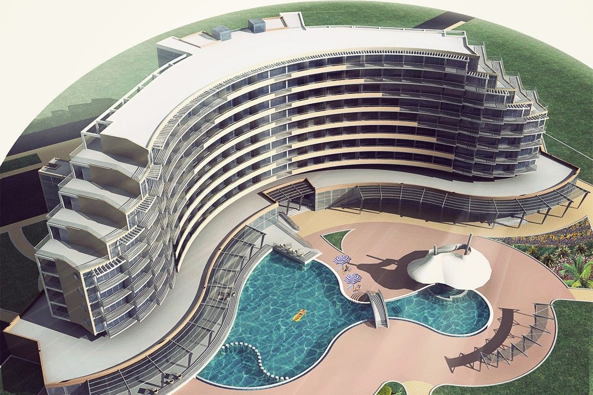 4 Star Hotel Architectural Design Concept A Project Architects