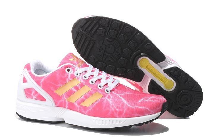 Bezplatna Wysylka Dhl Wielki Adidas Zx Flux Brzoskwinia Czerwony Bialy Zolty Meskie Buty Do Biegania Adidas Nmd Sneakers Adidas Sneakers