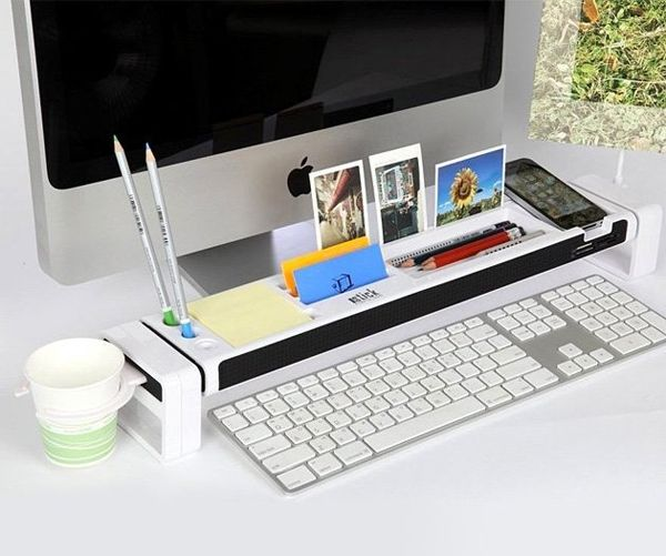 20 Crazy Cool Desk Organizers For Your Inspiration Hongkiat Desktop Organization Cool Office Gadgets Desk Organization