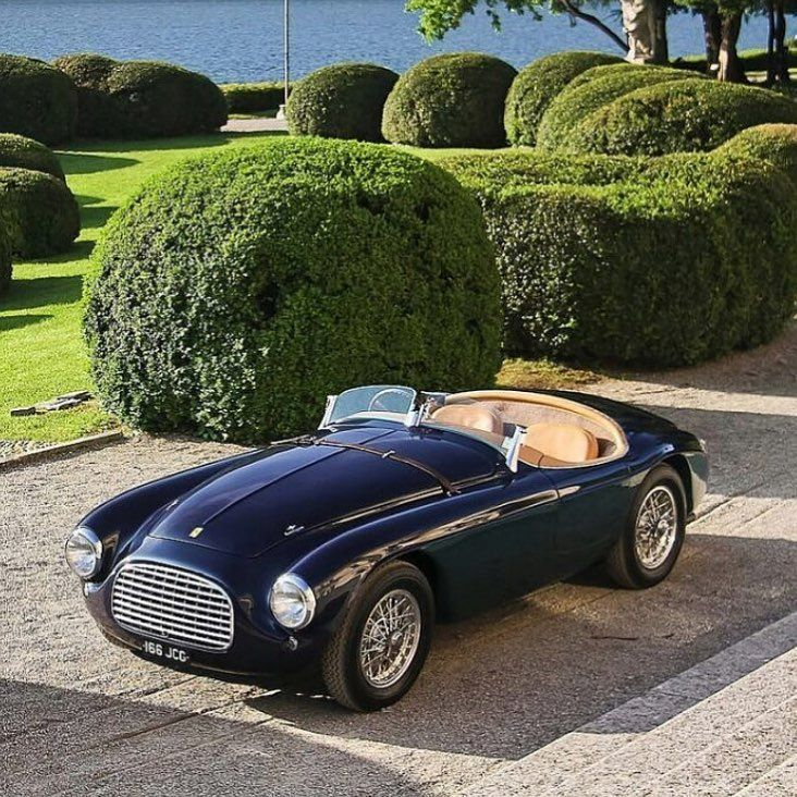 A 1950 Ferrari 166M Touring Barchetta Ready To Go For A Spin Around The  Crystal Waters Of Lake Como, Italy. Photo Byu2026 | Cars | Pinterest | Ferrari,  Cars And ...