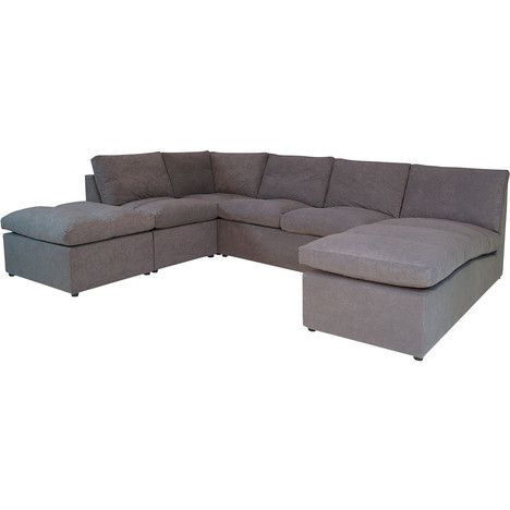 Canape D Angle Modulable Bergame Sectional Couch Couch Furniture