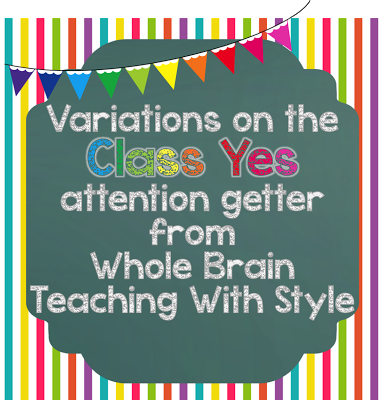 Brain Teaching With Style: Book Club - Chapter 6 Class Yes