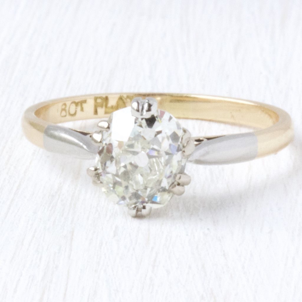 Old Mine Cut Diamond Engagement RIng | Adelaide- Victor Barbone – Victor  Barbone Jewelry
