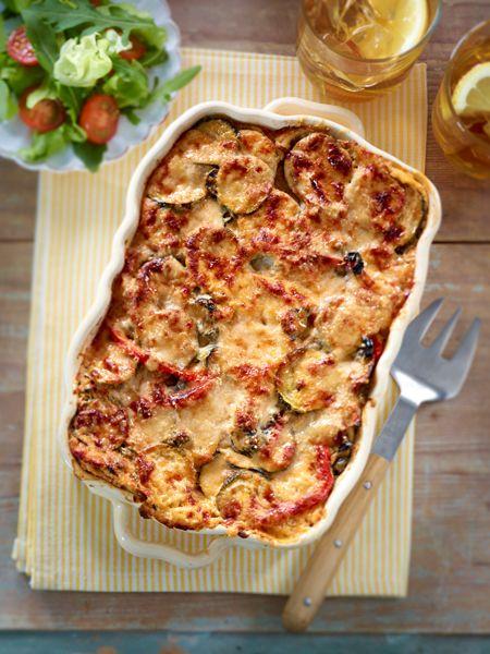 Zucchini-Lasagne: Leichte Rezepte! | Pizza Lasagne, Lasagne Und Burger
