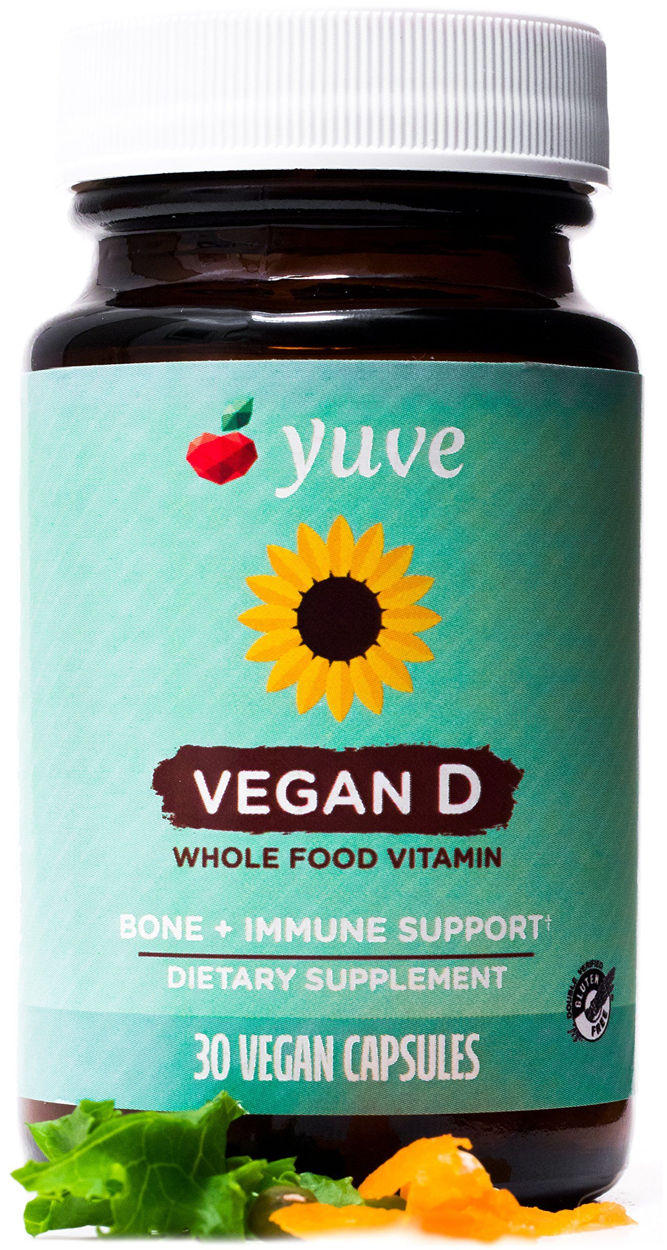 Yuve Vegan Vitamin D Supplement Supports Bone Joint All