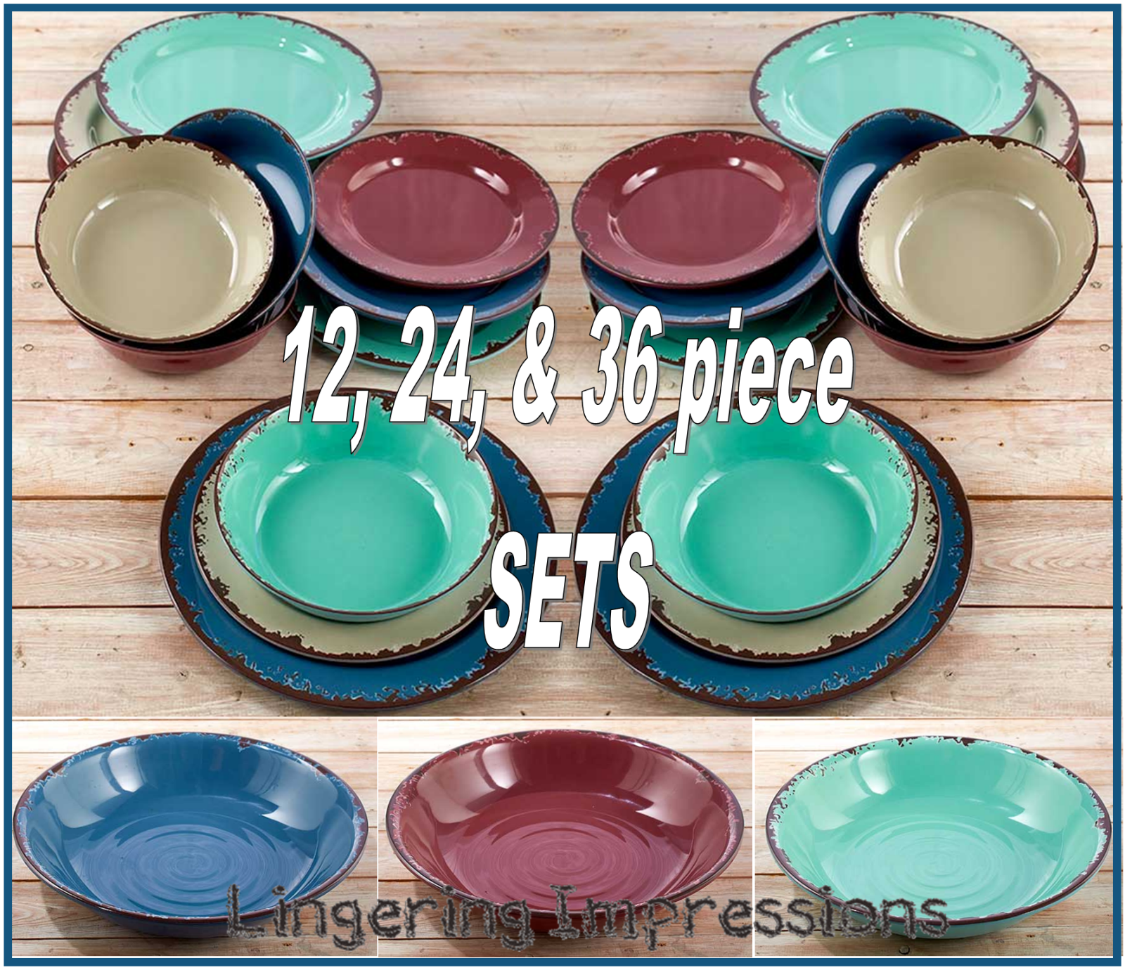 Details About Rustic Melamine Dinnerware Set Country Dishes Shatterproof Serving Bowls New With Images Melamine Dinnerware Sets Dinnerware Set Country Melamine Dinnerware