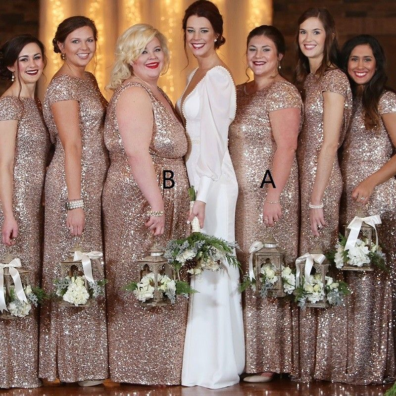 22+ Champagne sparkly bridesmaid dresses ideas