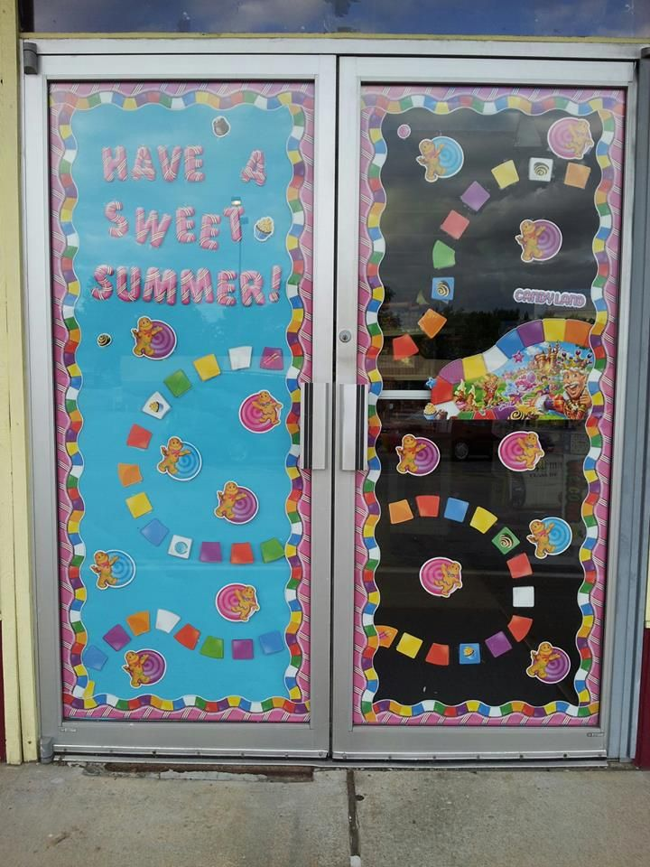 Candy Land bullentin board set Available | Candy theme ...