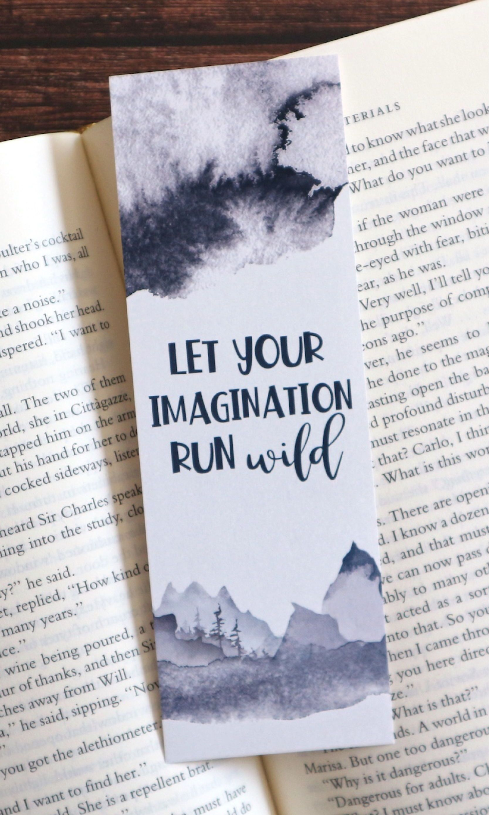 Printable Bookmarks Inspirational Quotes Bookmark Set Wild And Free Wanderlust Bookish Gifts For Readers Digital Bookmark Download Pdf Handmade Bookmarks Diy Creative Bookmarks Bookmarks Handmade