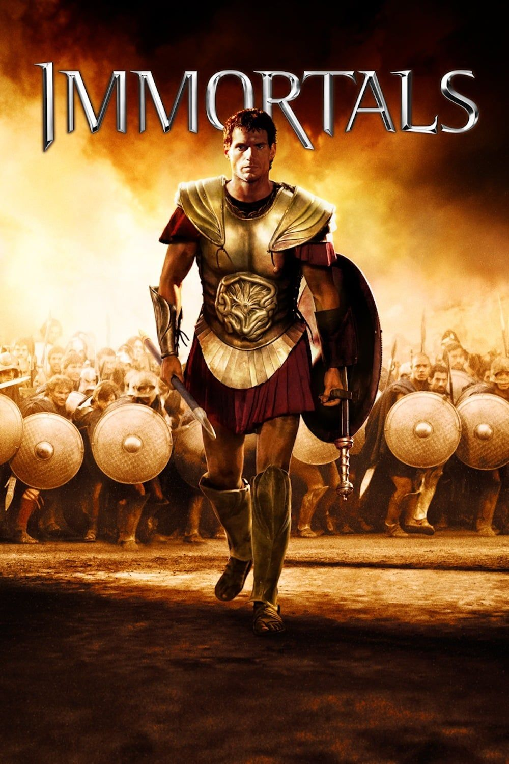 Immortals movie poster - #poster, #bestposter, #fullhd, #fullmovie, #hdvix,  #movie720pTheseus is a mortal man chosen by Zeus to lead the fight against  the ...