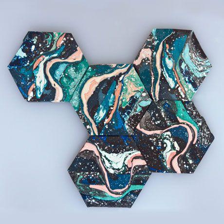 Sedimentation Trivet By Hilda Hellström   Art Meets Design With These Unique  Coasters | MONOQI