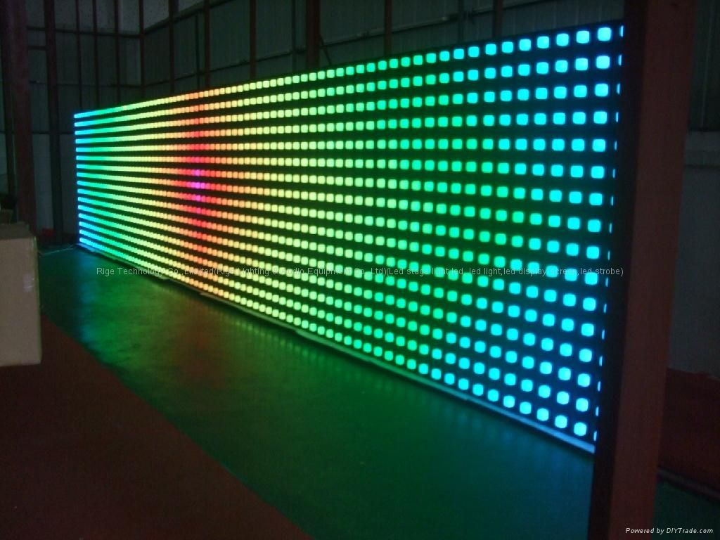 Modular Interactive Led System That Responds To The Movements Of