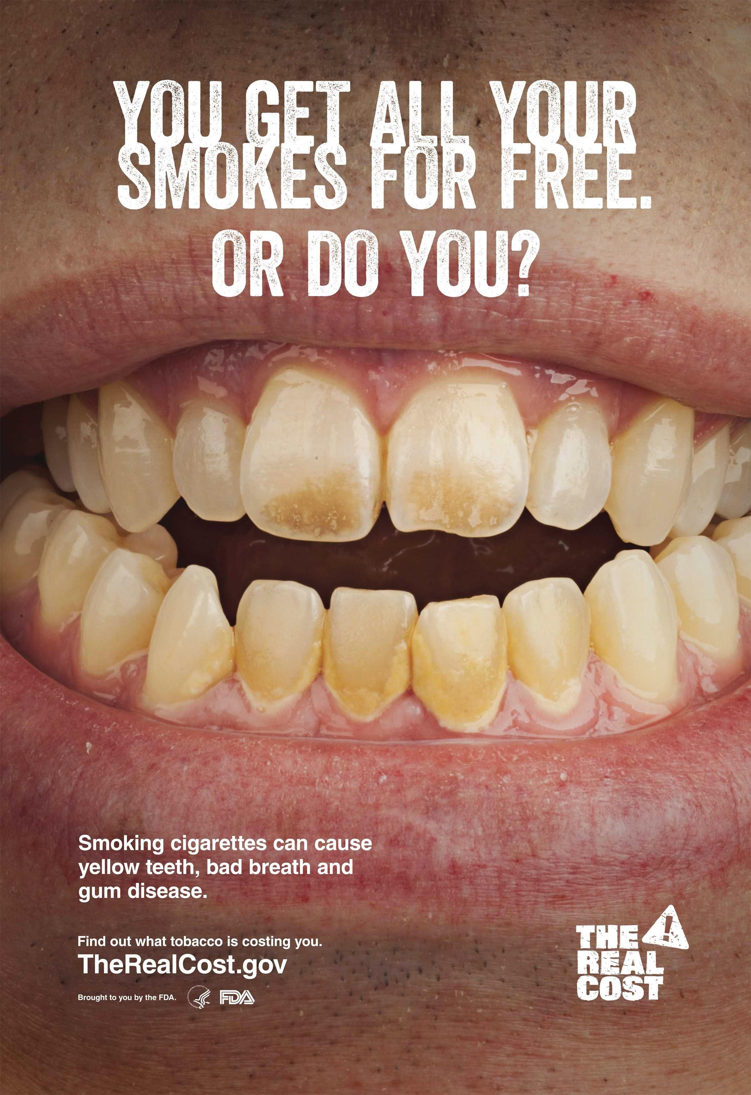 Quit Smoking Advertisement