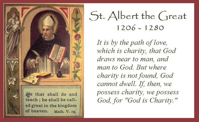Catholic News World Saint November 15 St Albert The Great