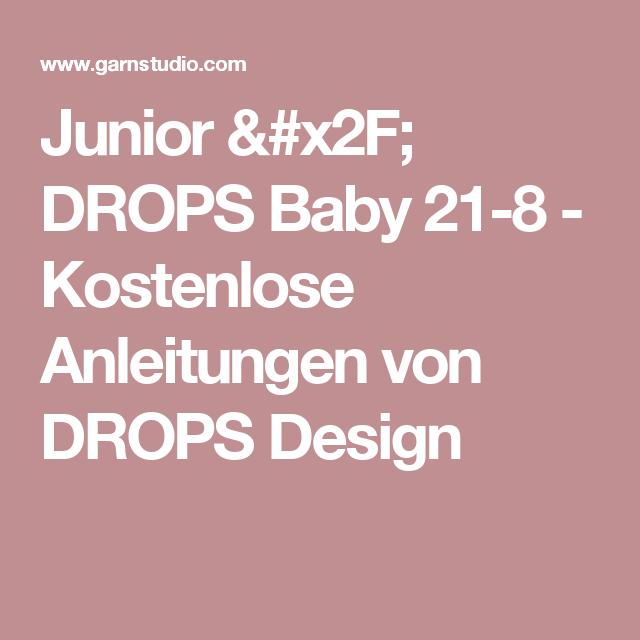 Junior / DROPS Baby 21-8 - Kostenlose Anleitungen von DROPS Design