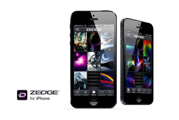 ZEDGE iOS app Zedge launches iPhone App while enjoys 45M