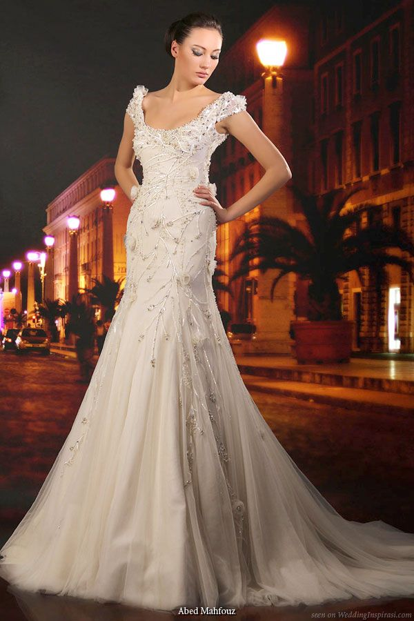 Abed Mahfouz Wedding Gown Collections   Mermaid silhouette, Abed ...