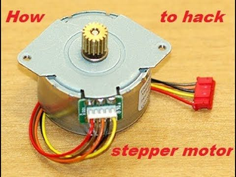 Simple best life hack run a 12v~ stepper motor without a