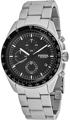 Fossil Sport 54 CH3026 Men's Silver Tone Stainless Steel Chronograph Watch - Stainless steel case, Stainless steel bracelet, Black dial, Quartz movement, Scratch resistant mineral, Water resistant up to 10 ATM - 100 meters - 330 feet      Brand Name - Fossil     Collection - Sport 54     Model Number - CH3026     Product Type - Watch     Type - Analog - watches, old, gold, rolex, expensive, leather watch *ad
