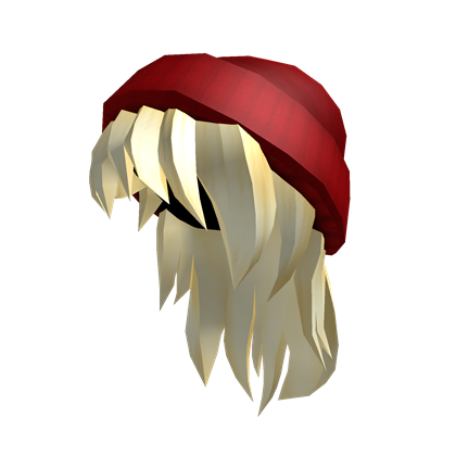 Red Beanie Blonde Hair Roblox Gaming Pinterest Blonde Hair