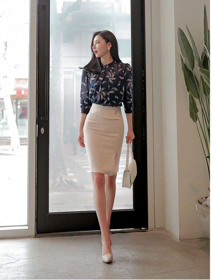 Pencil Skirt Women's Refined Tight Skirt Plain Pretty Beautiful Mini Length 40's 50's Fashion…