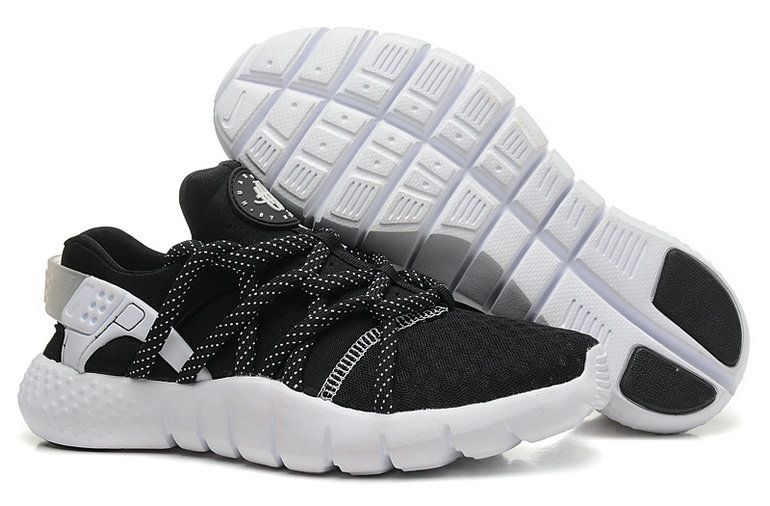 brand new 6d09b 9222f Nike Air Huarache NM Black White April 2018 New Arrival