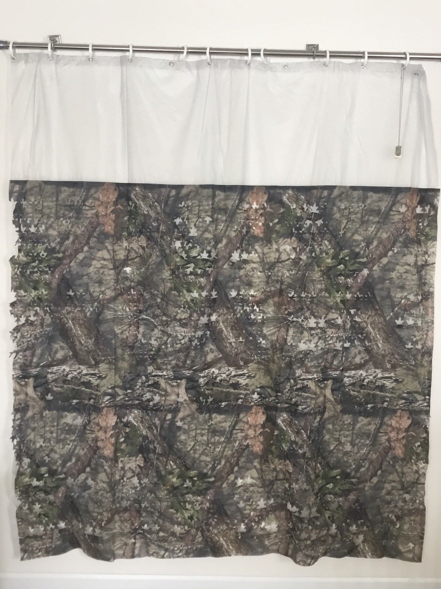 Camouflage Shower Curtain I Ripped It Curtains Fabric Shower