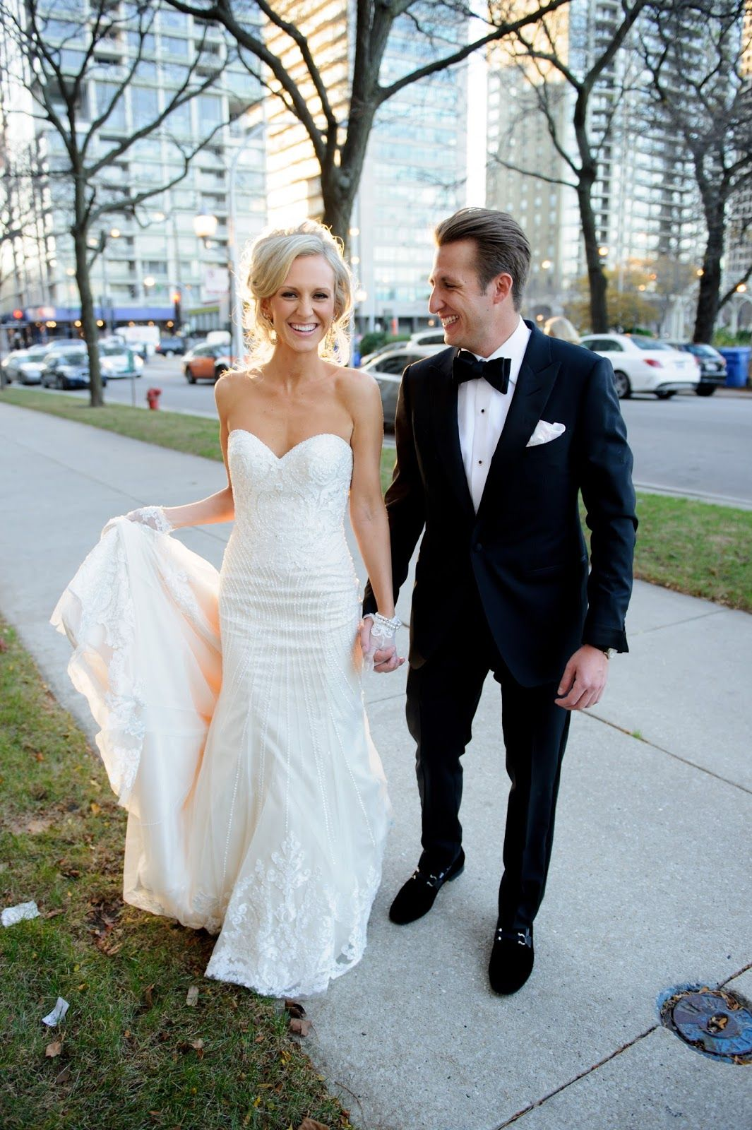Real Wedding Margaret Phillip Chicagostyle Weddings