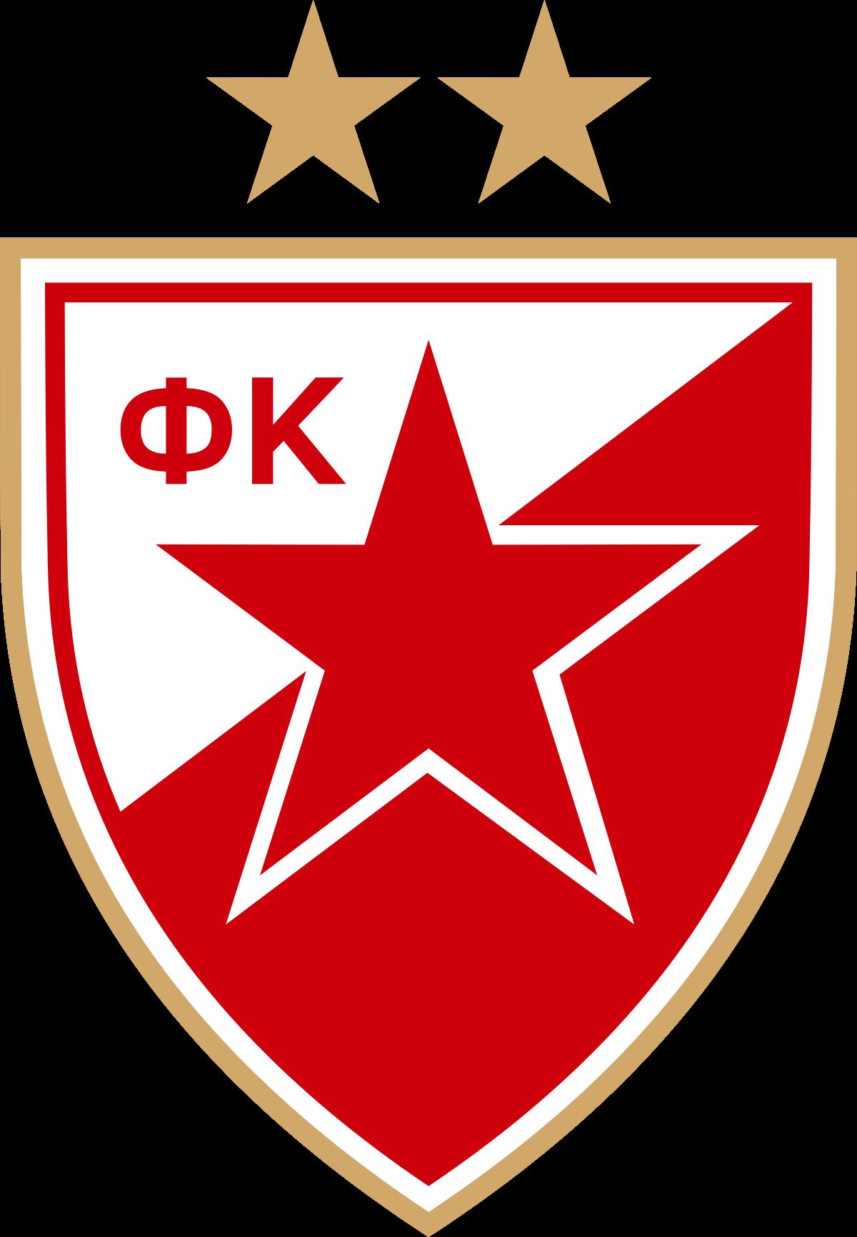 Red Star Belgrade Logo Uefa Champions League 2018 19 Red Star Belgrade Red Star Soccer Logo