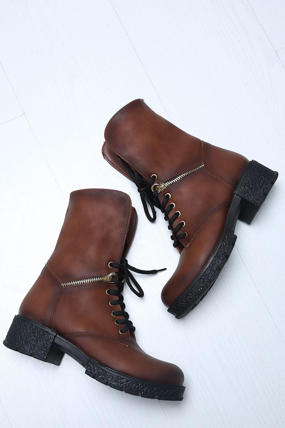 Siyah Kemerli Topuklu Bayan Bot Topuklular Bot Ayakkabilar
