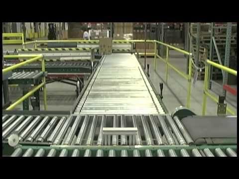 Conveyor Systems Automated Roller Conveyors Carton Pushers By Sjf Com Conveyor System Conveyors Conveyor